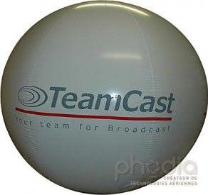 Ballon géant hélium 160cm pour Team Cast