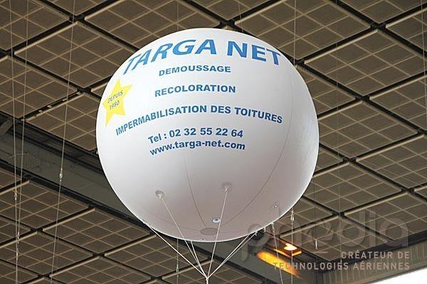 Ballon publicitaire de 2m pour Targanet