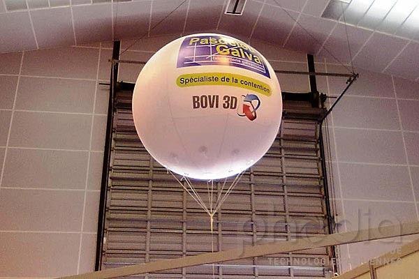 Ballons publicitaires au Space: Pasdelou-Galva