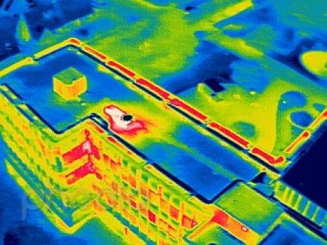 Thermographie du siège de Rochas