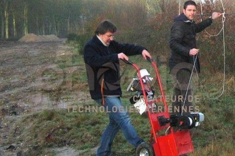Treuil électrique en situation tout-terrain