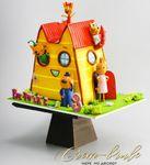 "Thumbnail №2 | Торт ""Мультяшный дом"""