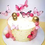 "Thumbnail №1 | Торт ""Бабочки"""