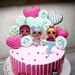 "Thumbnail №3   Торт ""Кукла Лол"""