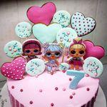 "Thumbnail №4   Торт ""Кукла Лол"""