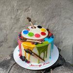 "Thumbnail №1   Торт ""Мой художник"""