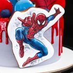"Thumbnail №2 | Торт ""В сетях Спайдермена"""