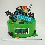 "Thumbnail №1   Торт ""Minecraft. Возвращение"""