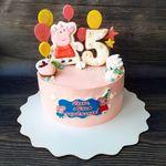 """Thumbnail №2   Торт """"Свинка Пеппа"""""""