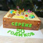 "Thumbnail №1 | Торт ""Песочница"""