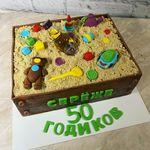 "Thumbnail №2 | Торт ""Песочница"""