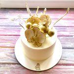 "Thumbnail №2 | Торт ""Орхидея"""