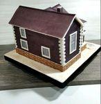 "Thumbnail №3 | Торт ""Построенный дом"""