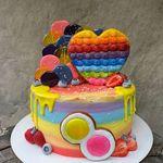 "Thumbnail №1   Торт ""Поп ит"""
