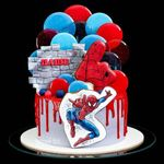 "Thumbnail №1 | Торт ""В сетях Спайдермена"""