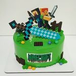 "Thumbnail №2   Торт ""Minecraft. Возвращение"""