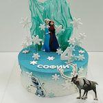 """Thumbnail №2   Торт """"Холодное Сердце"""""""