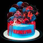 "Thumbnail №1   Торт ""Человек паук"""