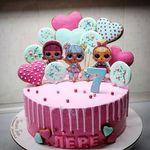 "Thumbnail №1   Торт ""Кукла Лол"""