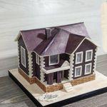 "Thumbnail №1 | Торт ""Построенный дом"""
