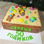 "Thumbnail №3 | Торт ""Песочница"""