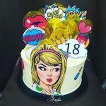 "Thumbnail №1   Торт ""Мои 18"""
