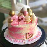 "Thumbnail №1   Торт ""Мраморный шедевр"""