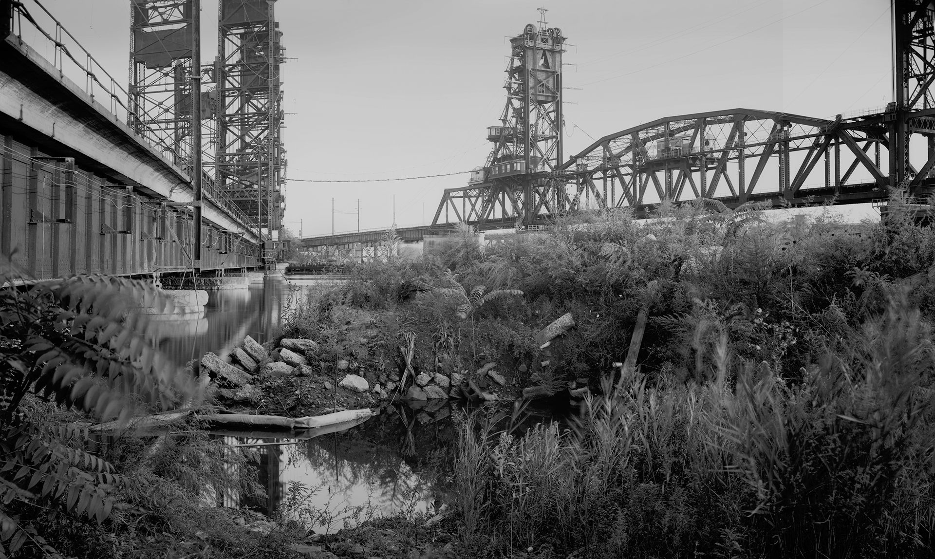 Jersey Bridges with Weeds