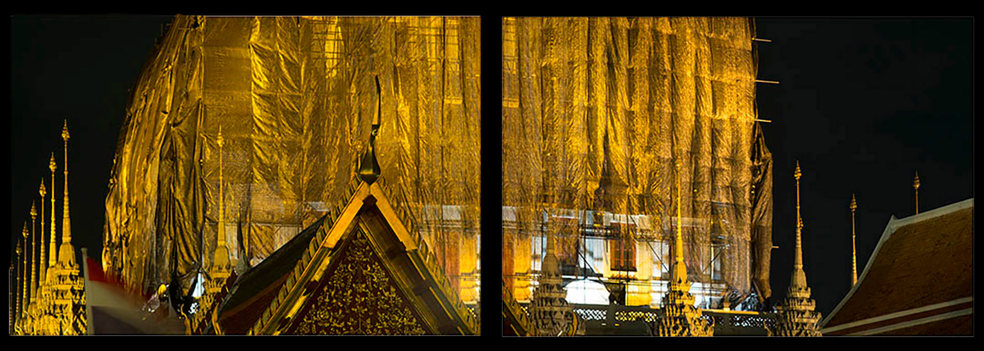 Golden Temple Wrapped