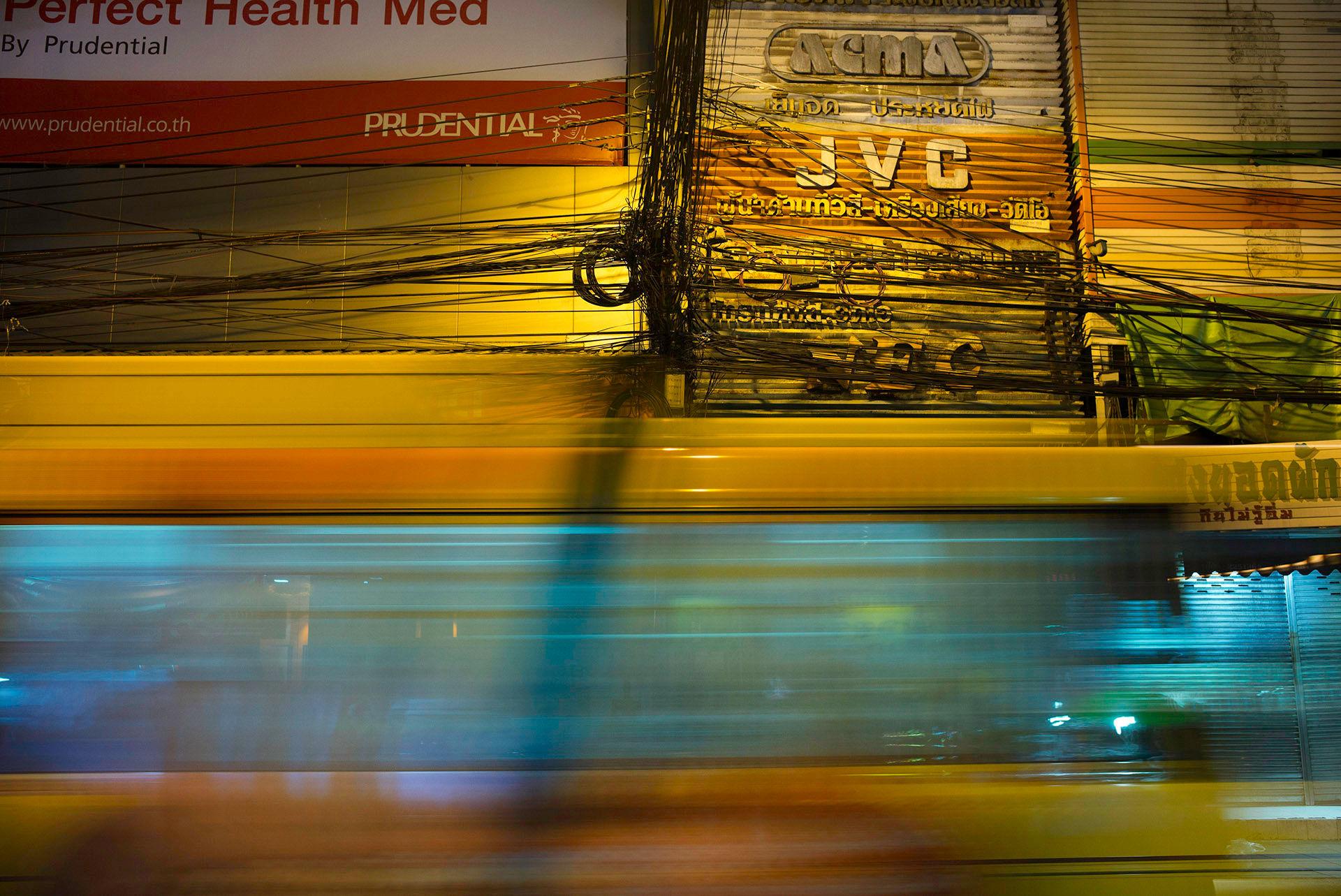 JVC Yellow Bus