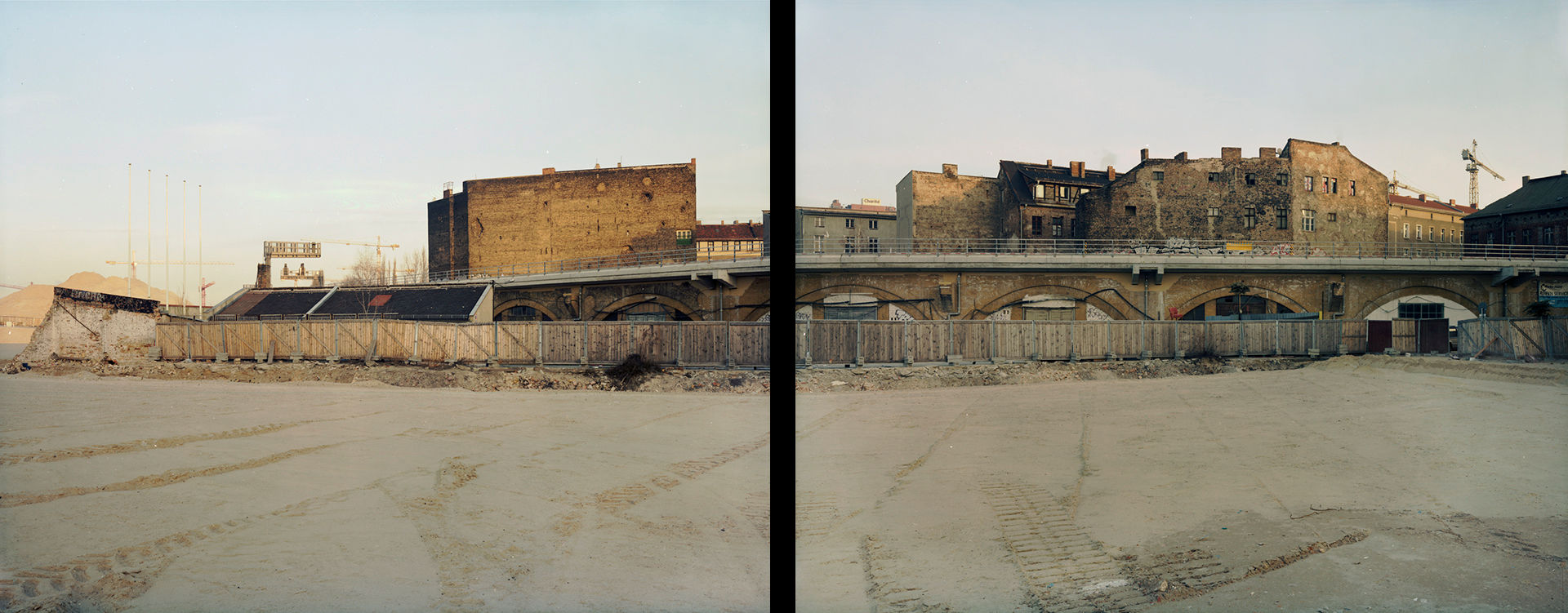 New Government Quarters diptych