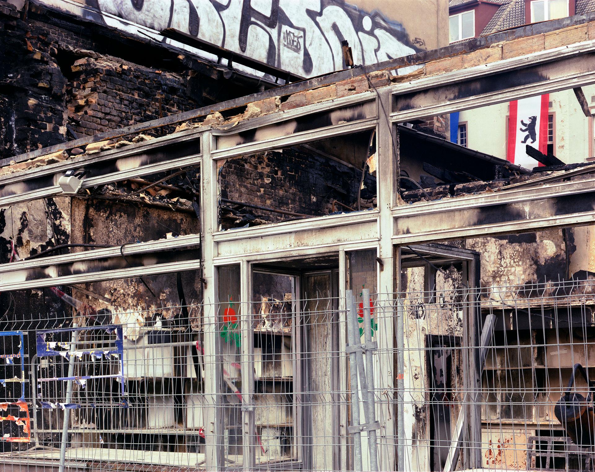 Burnt Store Berlin Flag
