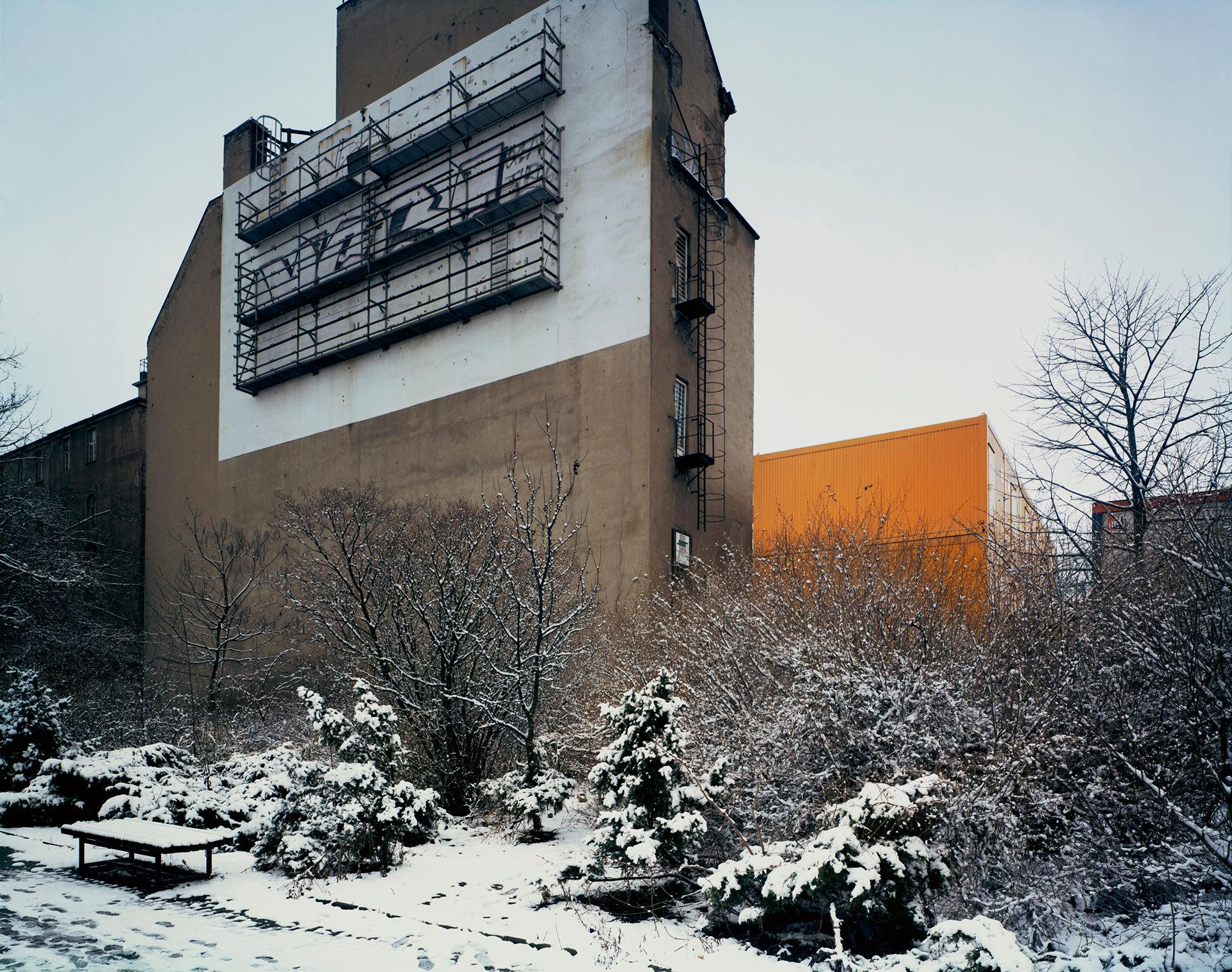Snow in Park, Friedrich Strasse