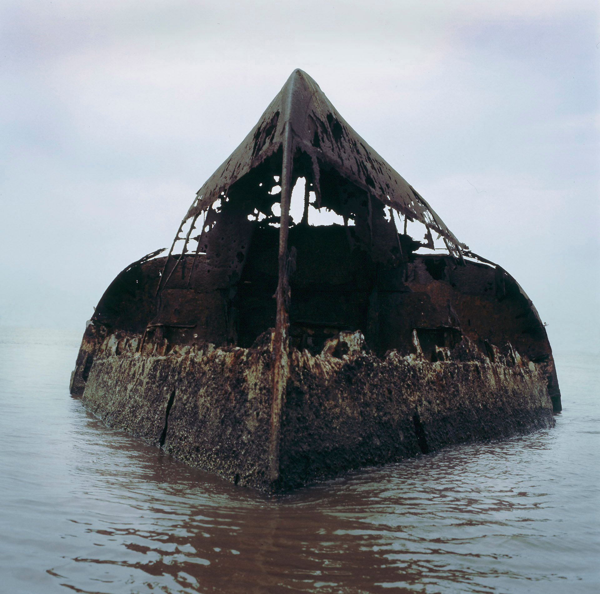 Capsized Hull #1, Lagos