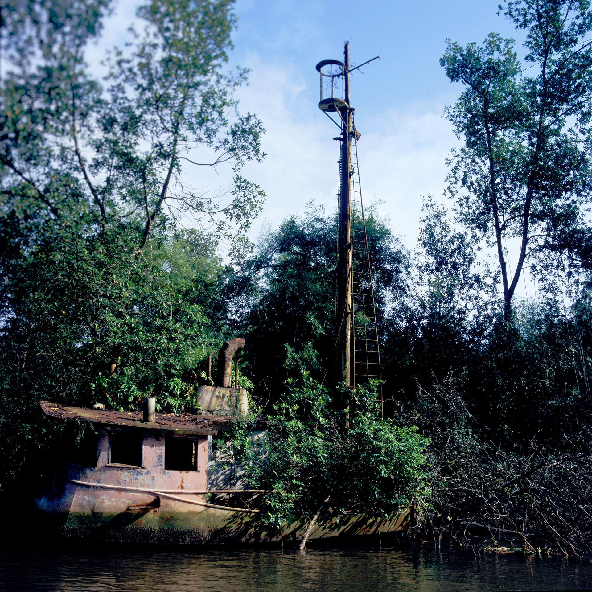 Sunken Trawler Douala