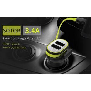 ROCK Sotor Car Charger-30265