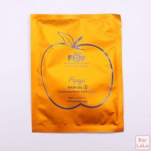 FDF Papaya (Lightening) 2in 1 Mask Gel-56793