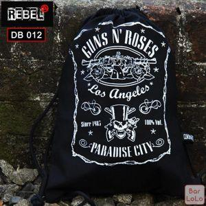 Rebel Drawstring Bag (Gun N Roses)-59115