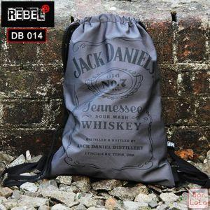 Rebel Drawstring Bag (Jack Daniels)-59117