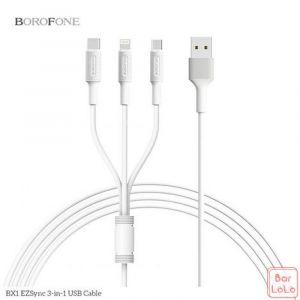Borofone  3 in 1 Cable ( BX 1 )-57647