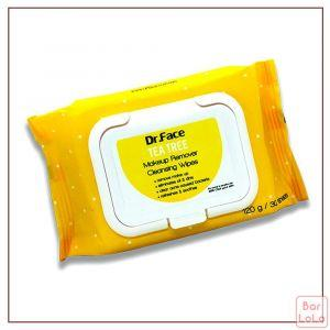 Dr.Face Tea Tree Makeup Remover Cleansing Wipes-61320
