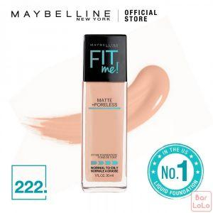 MAYBELLINE NEW YORK Fit Me Matte Poreless Foundation 222 True Beige (G3389001)-62371