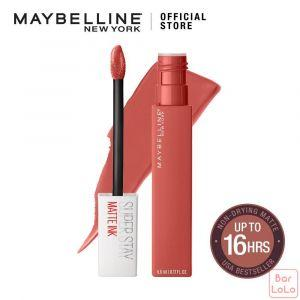 MAYBELLINE NEW YORK SUPER STAY MATTE INK CITY EDITION LIQUID LIPS 130 SELF STARTER 5ML (G3578800)-62831