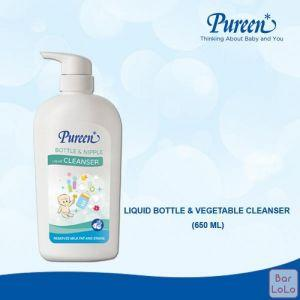 PUREEN LIQUID BOTTLE & VEGETABLE CLEANSER (650ML)-63360