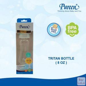 PUREEN BPA-FREE BOTTLE 8 OZ. with NATURAL PLUS NIPPLE-63375
