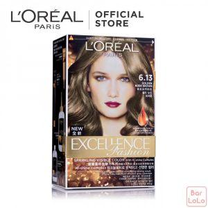 LOREAL PARIS EXCELLENCE FASHION HAIR COLOR 6.13 GOLDEN NUDE BROWN 172 ML (G1297101)-63521