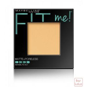MAYBELLINE NEW YORK FIT ME MATTE & PORELESS POWDER 120 CLASSIC IVORY 8.5G (G3392300)-63622