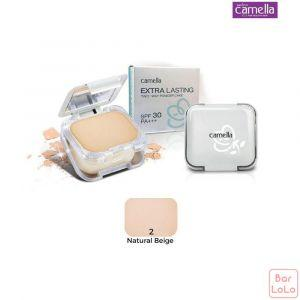 Camella Extra Lasting Two Way Powder Cake SPF 30 PA (2 Natural Beige)-72411