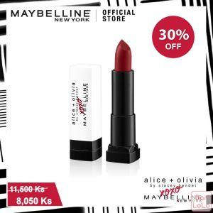 MAYBELLINE ALICE & OLIVIA CREAMY MATTE LIPSTICK 691 STACE FACE RED ( G3764200 )-73477