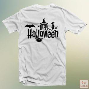 Men T-Shirt (Happy Halloween) (S)-75156